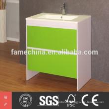 floor mounted MDF bathroom cabinet
