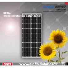 80W Mono Solar Panel (CNCB80W)