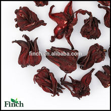 FT-009 Dried Roselle Gongura Hibiscus sabdariffa Wholesale Scented Flavor Flower Herbal Tea