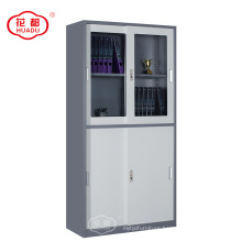 Sliding door metal filing cabinet storage locker