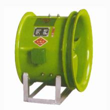 Ventilateur axial industriel d'écoulement d'échappement de haute performance colorée directe d'usine