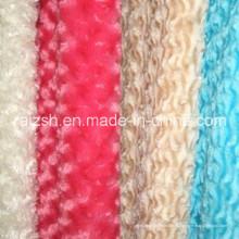 Fabricante profesional para la tela larga del paño grueso y suave de la pila