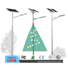 Solar LED Street Light for Christmas Decoration