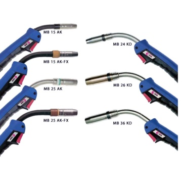 Binzel Type Gas Welding Torch 24KD Swan neck
