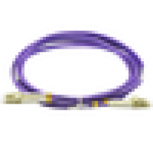 Cordon de raccordement en fibre duplex lc / pc-lc / pc, cordon de raccordement de distribution lc-lc, cordon de raccordement duplex om3 lc-lc