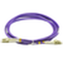 Cabo de remendo duplex da fibra do lc / pc-lc / pc, cabo de remendo da distribuição do lc-lc, cabo de remendo duplex do om3 lc-lc