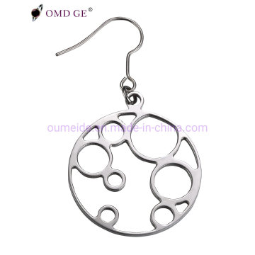 Fashion Jewelry Circle-Shaped Earring