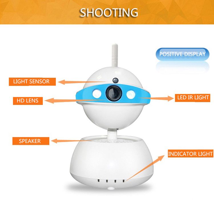 Wireless Wifi Security Camera System