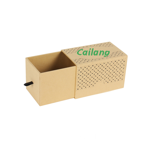 Kraft Paper Slipcase Packaging Box Dengan Logo