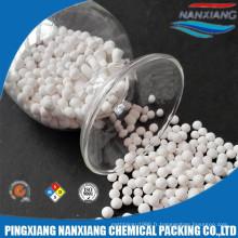 Billes en céramique inertes basses de l'alumine 17-23% pour le support pétrochimique de support de catalyseur pétrochimique