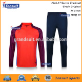 100% tracksuit fabric polyester dri fit sportswear high qualtiy football origianl training set
