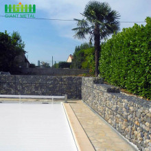 Gabion jenis Galvanized Hot Dipped Stone Welded Mesh