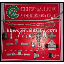 WS-7 and preformed standard electrical fittings