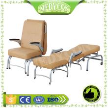 BDEC208 Silla de hospital silla de acompañamiento silla de hospital plegable