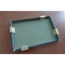 Paneles de sándwich de aluminio con aislamiento reforzado