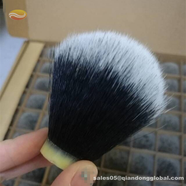 Black Synthetic Shaving Brush Knot