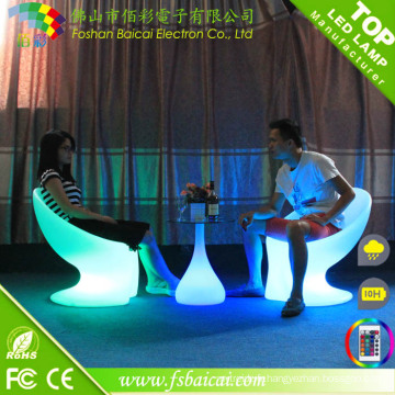 Chaise LED moderne en gros