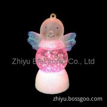Mini LED battery opearted christmas decoration angel light
