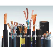 CCA/ aluminum/Copper conductor /rubber sheathed cable welding cable ( 25mm2,35mm2,50mm2.70mm2,95mm2,120mm2,185mm2)