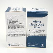 GMP Factory Supply para cápsulas de ácido alfa lipoico anti-edad
