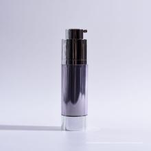 30ml cilindro de parede dupla Twist up garrafas sem ar com base
