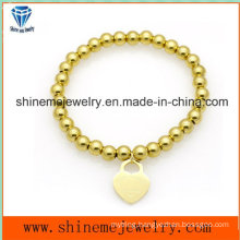 Hot-Selling Stainless Steel Bead Pendant  Bracelet (BL2838)