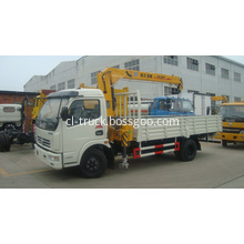 DONGFENG 4x2 small truck crane