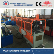 Machine de fabrication de barres de profil d'angle en acier de fer d'angle de qualité à grande vitesse