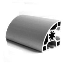 Half Round C Aluminium Industrial Profile M8 Section