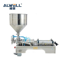 semi - auto bottle cosmetic filler juice honey cream piston liquid filling machine