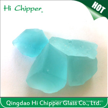 Turquosie Green Colored Fire Place Glass Blocks