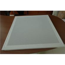 600 * 600 milímetros de alumínio perfuradas teto falso telhas / painéis