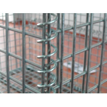 Arge Industrial Stackable Storage Wire Mesh Containers (EBIL-CCL)