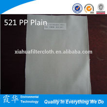521 PP plain micron filtration cloth for aluminium water