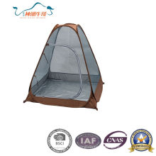 2016 New 190t Polyester with Silver Coating with Mesh Pop up Tent