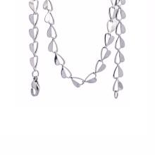 2018 дешевые фанки сталь металлическое сердце небольшой цепи ожерелье ювелирные изделия оптом