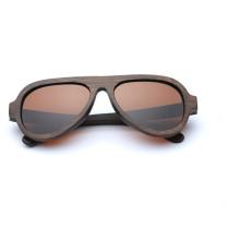 FQ marca atacado moda bambu polarizada marca óculos de sol