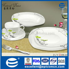 luxury dinnerware new bone china coffee cups and saucers
