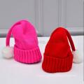 Оптом Зимняя шапка для детей Детская шапка вязаная шерстяная пряжа теплые шапки