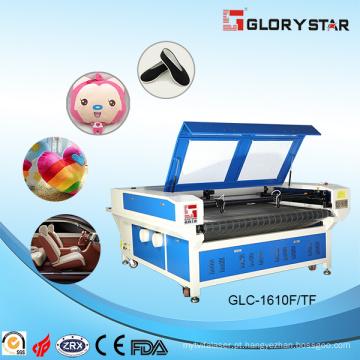 Cabeça dupla do laser de duas cabeças gravura & máquina de corte e alimentação automática (GLC-1610FT / 1810FT)