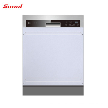 Professional Fully Automatic Semi Built-in Stainless Steel Mini Dishwasher