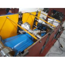 faîtage de toiture métallique bleu rolling machine/New Design cap faîtière dans machine à tuile de toit tuile/crête