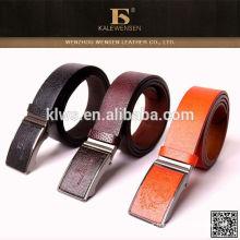Alta qualidade de design de preço de fábrica de moda direta superior correia de couro automática