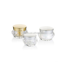 New Design Cream jar fashionable Luxury Acrylic Empty Cosmetic cosmetic Container available