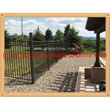 Металлический забор профессионального производства для сада