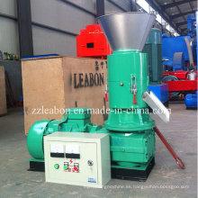 250-300kg / H Línea móvil de fabricación de pellets de madera