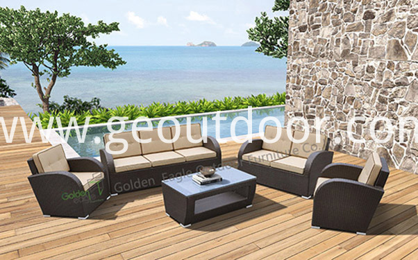 patio wicker modular seating