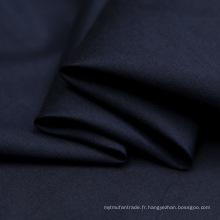 Tissu en sergé teint en mélange de polyester mélangé