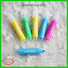 Hot sale children use scented ink set package mini highlighter