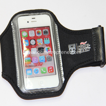 Low MOQ Neoprene Red Armbands Phone Holders